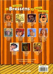 Verso de Chansons en Bandes Dessinées  - Chansons de Brassens en bandes dessinées