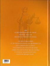 Verso de L'ordre de Cicéron -2- Mis en examen