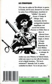 Verso de Corto Maltese -2Poch- Les Éthiopiques