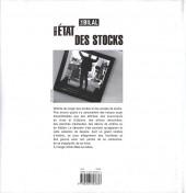 Verso de L'État des stocks -3- Nouvel état des stocks