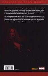 Verso de Daredevil (100% Marvel - 1999) -10- La Veuve