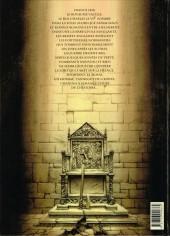 Verso de Le trône d'Argile -1- Le chevalier à la hache