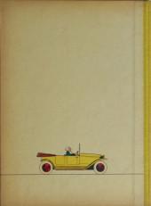 Verso de Bécassine -14c- L'automobile de Bécassine