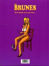 Verso de Les brunes -1- Être blonde ou ne pas être...