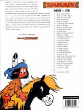 Verso de Yakari -1c2004- Yakari et Grand Aigle