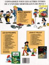 Verso de Benoît Brisefer -11- Le secret d'Églantine