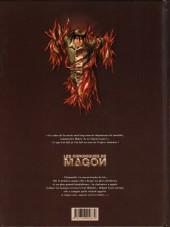 Verso de Les chroniques de Magon -4- Exil