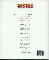 Verso de Docteur Justice (Intégrale) -1INT- Docteur Justice