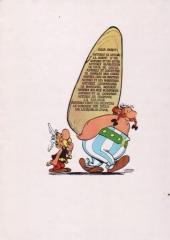 Verso de Astérix -13a1972- Astérix et le chaudron