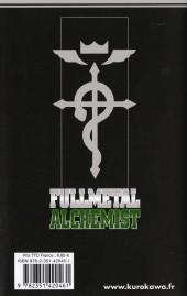 Verso de FullMetal Alchemist -6- Tome 6