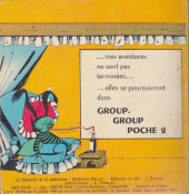 Verso de Group-group -1- Group-group poche n°1