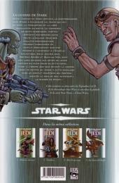 Verso de Star Wars - Jedi -4- La guerre de Stark