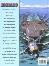 Verso de Biggles présente... -6- Mes avions de papier