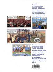 Verso de Objectif citoyen -Pub- Le Parcours de Citoyenneté