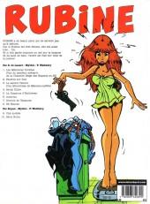 Verso de Rubine -10- Série noire