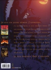 Verso de Mille Visages -4- Larmes de Cendres