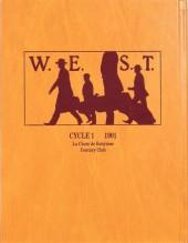 Verso de W.E.S.T -INT1- Cycle 1 - 1901