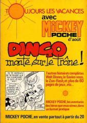 Verso de Picsou Magazine -54- Picsou Magazine N°54