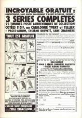 Verso de Super Picsou Géant -16- Numéro 16