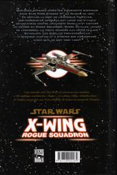 Verso de Star Wars - X-Wing Rogue Squadron (Delcourt) -1- Rogue Leader
