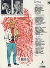 Verso de Ric Hochet -2d1994- Mystère à Porquerolles
