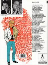 Verso de Ric Hochet -5g1993- Piège pour Ric Hochet