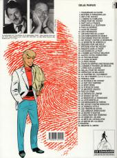 Verso de Ric Hochet -4d1994- L'Ombre de Caméléon