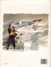Verso de Tanguy et Laverdure -8d1984- Pirates du ciel