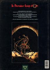 Verso de Le dernier loup d'Oz -1- Prologue : La rumeur des eaux