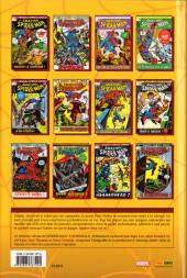 Verso de Spider-Man (L'Intégrale) -10INT- Spider-Man : L'Intégrale 1972