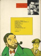 Verso de Blake et Mortimer (Les aventures de) (Historique) -6g1977'- L'Énigme de l'Atlantide