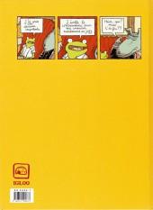 Verso de Georges Frog -1- Premier couplet