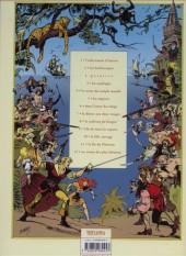 Verso de Les fils de l'aventure -2- Les Barbaresques