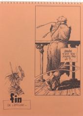 Verso de La quête de l'oiseau du temps -HS- Esquisses - L'ami Javin