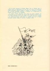 Verso de Histoire de l'Ain en bandes dessinées -1- Des cavernes aux châteaux forts