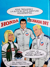 Verso de Michel Vaillant -11Pub- Le défi ATC