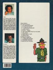 Verso de Clifton -6b91- Une panthère pour le colonel