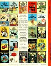 Verso de Tintin (Historique) -19C4- Coke en stock