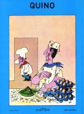 Verso de (AUT) Quino -4- À table !...