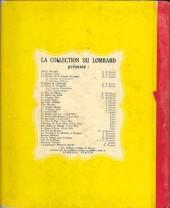 Verso de Chick Bill (collection du Lombard) -5a- L'étrange Mr Casy Moto