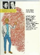 Verso de Ric Hochet -18a74- Enquête dans le passé