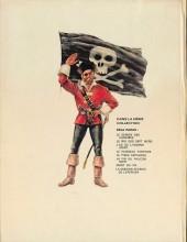 Verso de Barbe-Rouge -12'- La mission secrète de l'Epervier