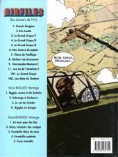 Verso de Biggles présente... -8- Héritiers de Guynemer