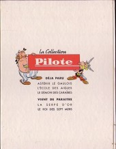 Verso de Tanguy et Laverdure -2- Pour l'honneur des cocardes