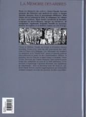 Verso de La mémoire des arbres -4a00- Les seins de café - tome 2
