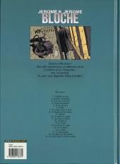 Verso de Jérôme K. Jérôme Bloche -19- Un chien dans un jeu de quilles