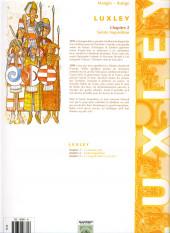 Verso de Luxley -2- Sainte Inquisition