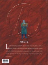 Verso de Le triangle secret - Hertz -1- Hertz