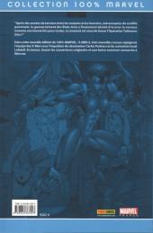 Verso de X-Men (100% Marvel) -2a- Opération Tolérance Zéro