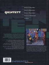 Verso de Quintett -4- Quatrième mouvement : Histoire de Nafsika Vasli